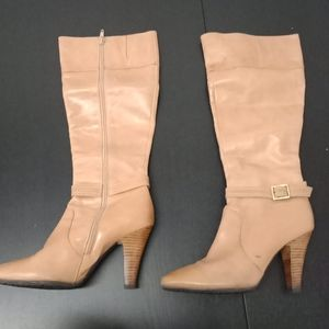 Long ankle boots
